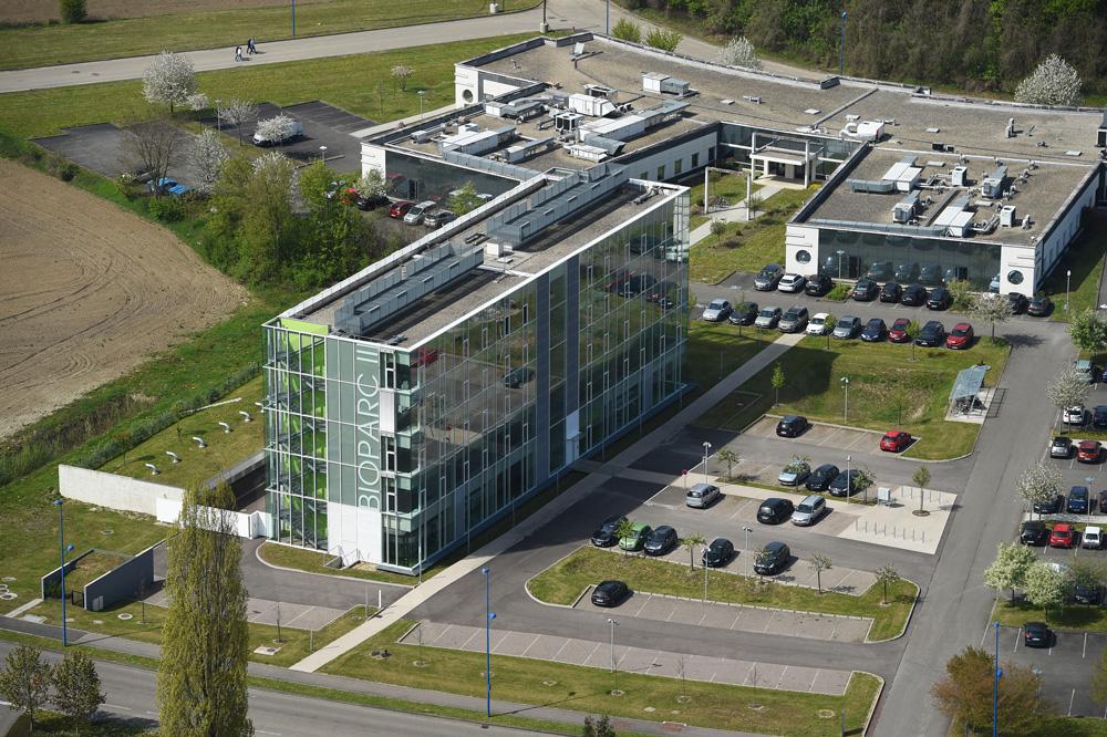 Parc d'innovation PII à Illkirch Graffenstaden