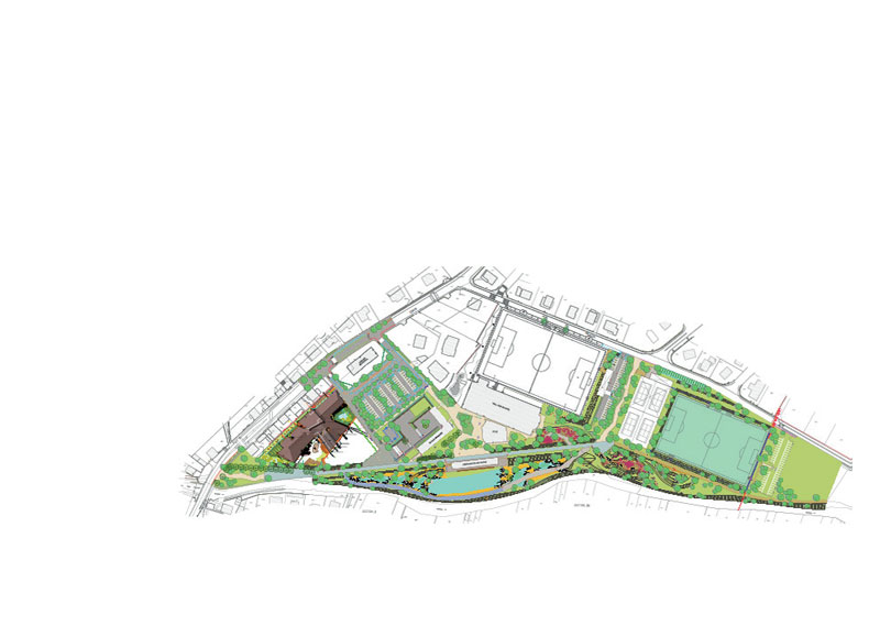 Plan espace sports et loisirs