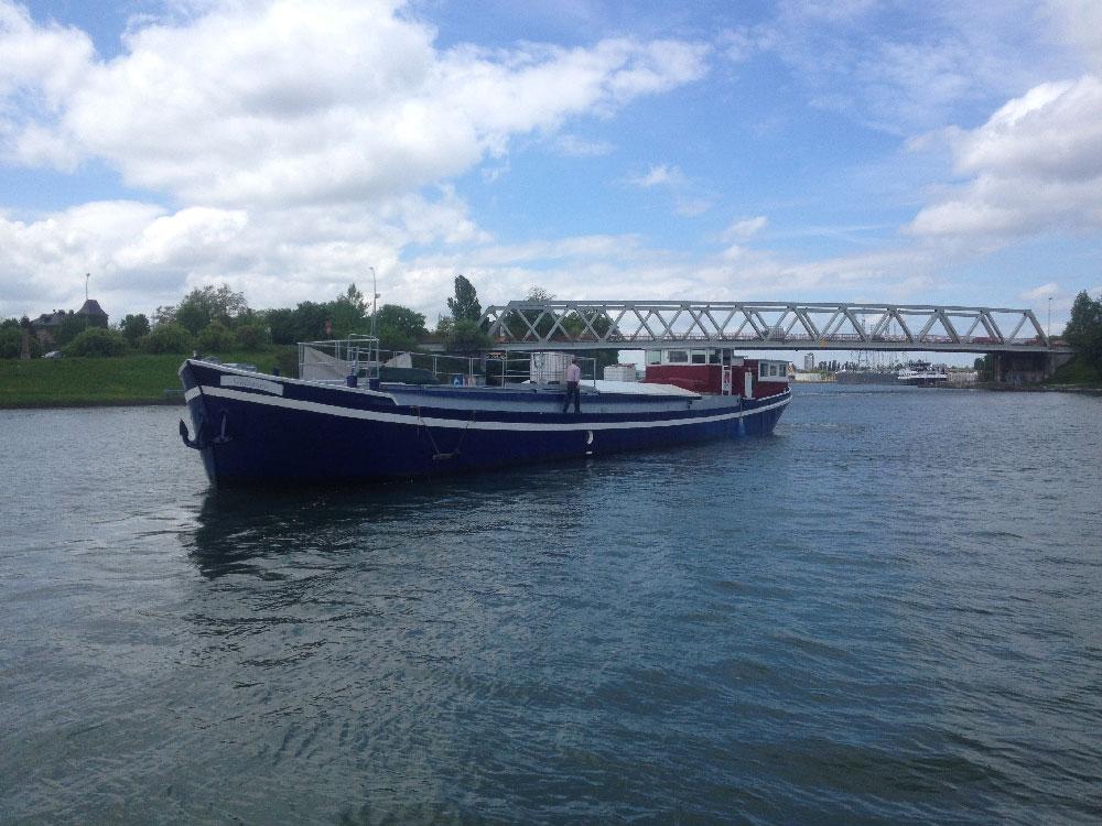 Retour du chantier naval d'Illzach