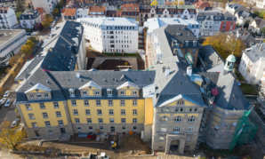 Poursuite de la reconversion du site de la clinique Sainte Odile dans le quartier du Neudorf à Strasbourg avec l'ouverture d'une crèche