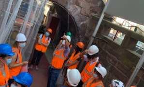 Visite de fin de chantier des Bains municipaux de Strasbourg: un avant-goût d'un futur plongeon dans le grand bain😊!