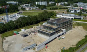 Construction du nouveau siège du Centre de Gestion 67: dernière ligne droite!