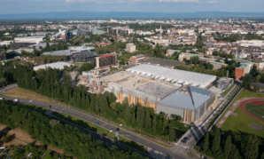 Le chantier du nouveau Parc des Expositions de Strasbourg poursuit sur sa lancée!
